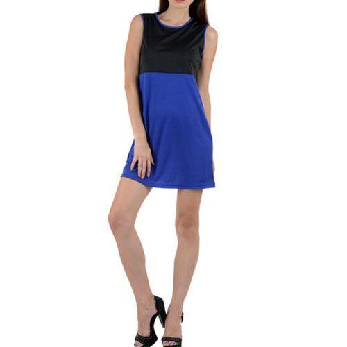 Galaxy Trendz Viscose Round Neck Ladies Dress
