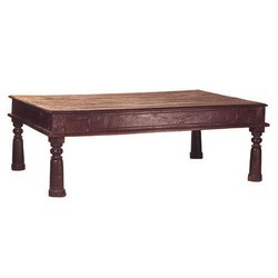 Brown Antique Coffee Table