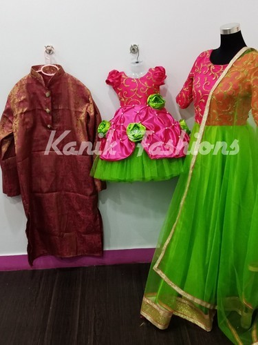 298a888a2f Mother Daughter Dress - Customised Combo dresses Wholesale Trader from  Chennai