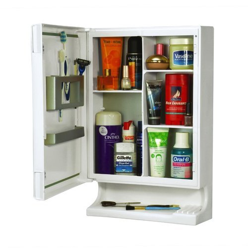 Plastic White Bathroom Wall Cabinet Rs