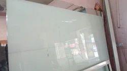 Plain White Glass