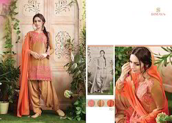 Cotton Embroidery Stylish Salwar Suit