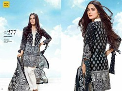 Cotton Printed Lawn Suit Original Gul Ahmed