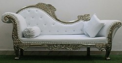 Wood Modern Wedding Sofa, Size: Contemporary, for Wedding Hall