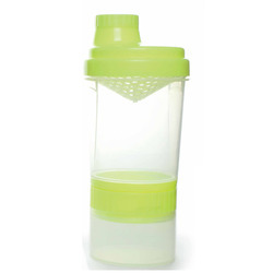 Super Shaker Sports Bottle - Small with Pill Box