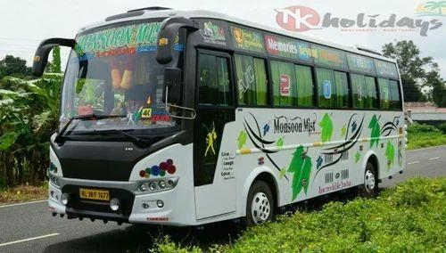 ac 32 seater air bus in kochin kerala in pallurthy kochi