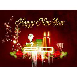 New year greeting card at best price in india new year greeting card m4hsunfo