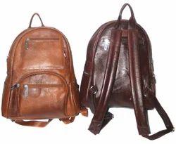 e651bf9336 Genuine-Leather-Backpack-Office Bag-Laptop-Bag-for-Men-Women at Rs ...