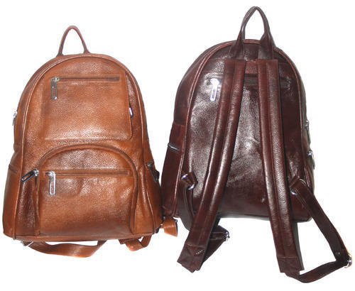 7e502af621 Genuine-Leather-Backpack-Office Bag-Laptop-Bag-for-Men-Women at Rs ...