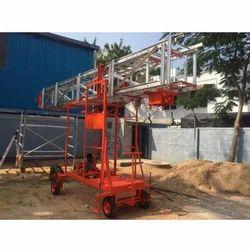 Aluminum Tiltable Mobile Tower Ladder