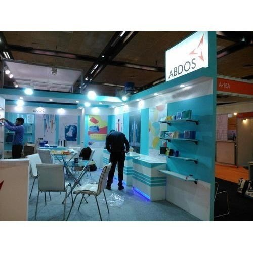 Portable Exhibition Lighting : Portable exhibition stall fabrication in bhikaji cama place new