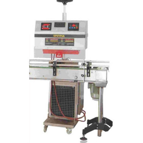 Spheretech Induction Cap Sealing Machine, Capacity: Depends On Head Of Machine