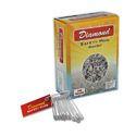 Diamond Safety Pin - Steel- Nickel