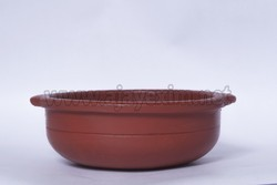 Red Clay Sauce Pot, For Cooking & Serving