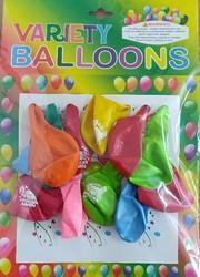 Variety balloon's