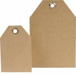 Brown Paper Hang Tags, Packaging Type: Packet