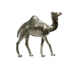 White Metal Camel Big Statues