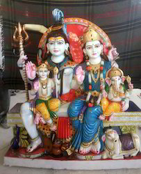Marble Shiv Parivar Statue Manufacturers Suppliers