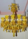 Glass Contemporary Chandelier Vintage