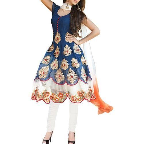 191fb48ec Georgette Semi Stitched Suit at Best Price in India