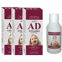 AD Vitamin Baby Massage Oil