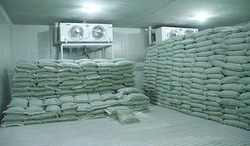 Frozen Peas Storage Room