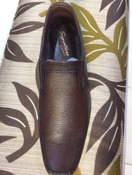 Formsl Black And Brown Formal Shoes, Size: All