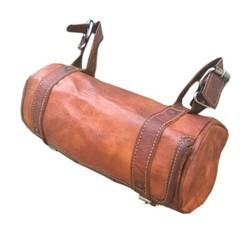 Genuine Leather Motor Cycle Saddle Bag SADL101
