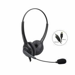 Black Dasscom DS-1000ND USB Headsets