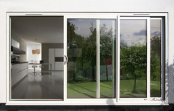 Powder Coated Aluminium Doors, for Office