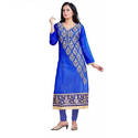 Chanderi Ladies Suit