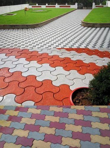 Concrete Interlocking Tile