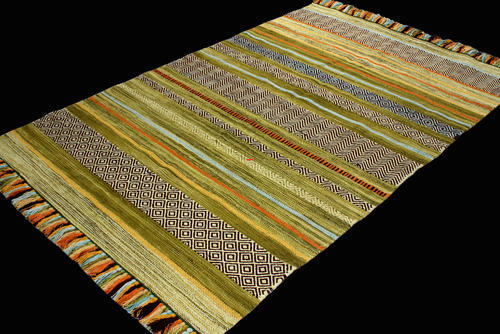 Flatweave Cotton Rug Uniquely Modern Rugs