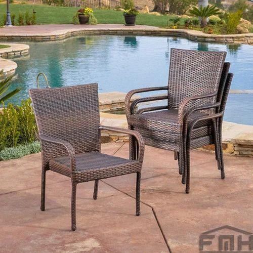 Outdoor Wicker Garden Chairs