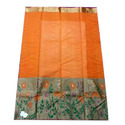 6.3 M (with Blouse Piece) Festive Wear Kota Handloom Pure Zari Saree