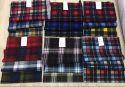 Print Check Shirt Cotton Fabric, Check/stripes, Multicolour