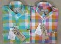 Men Branded Check Shirts
