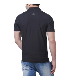 Black Cotton Adidas Promotional T-Shirt, Size: L And XL