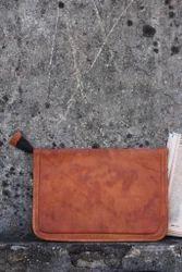 Leather Laptop Sleeve/ Leather File Folder