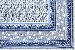 Hand Block Printed Bed Sheet with Pillow Cover