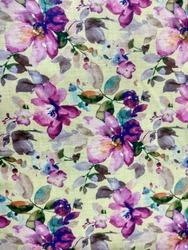 Digital Sublimation On Spurn Polyester Fabric