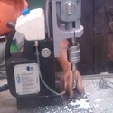 Magnetic Base Drilling Machine With Swivel Base