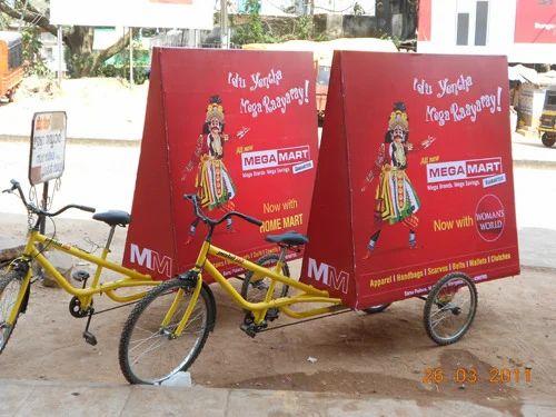 Cycle Rickshaw Ads in Hyderaba...