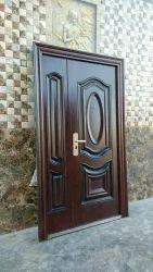 Wooden Finish Steel Doors