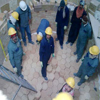 Manpower For Refractory Construction