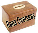 Wooden Money Bank Boxes