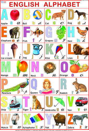 Nursery Section Children Learning Charts Manufacturer