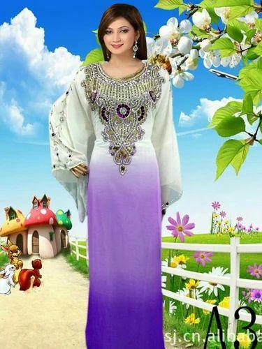 e56862c0ab46 Ladies Long Kaftan at Rs 1450 /piece | Georgette Kaftan | ID ...