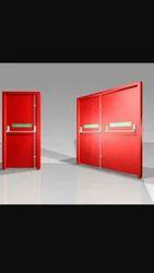 Steel Press Doors