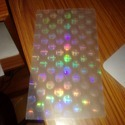 Holographic Film FOR PVC Cards FUSING